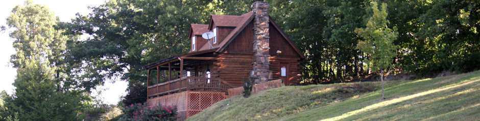 Eureka Springs Log Cabin   Mountain View