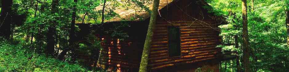 Nature's Heart Cabin in the Eureka Springs, AR Ozark Mountains