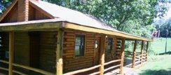 Eureka Springs Cabin with outdoor hot tub for rent