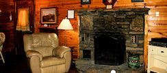 Arkansas Stone Fireplace for Getting Cozy
